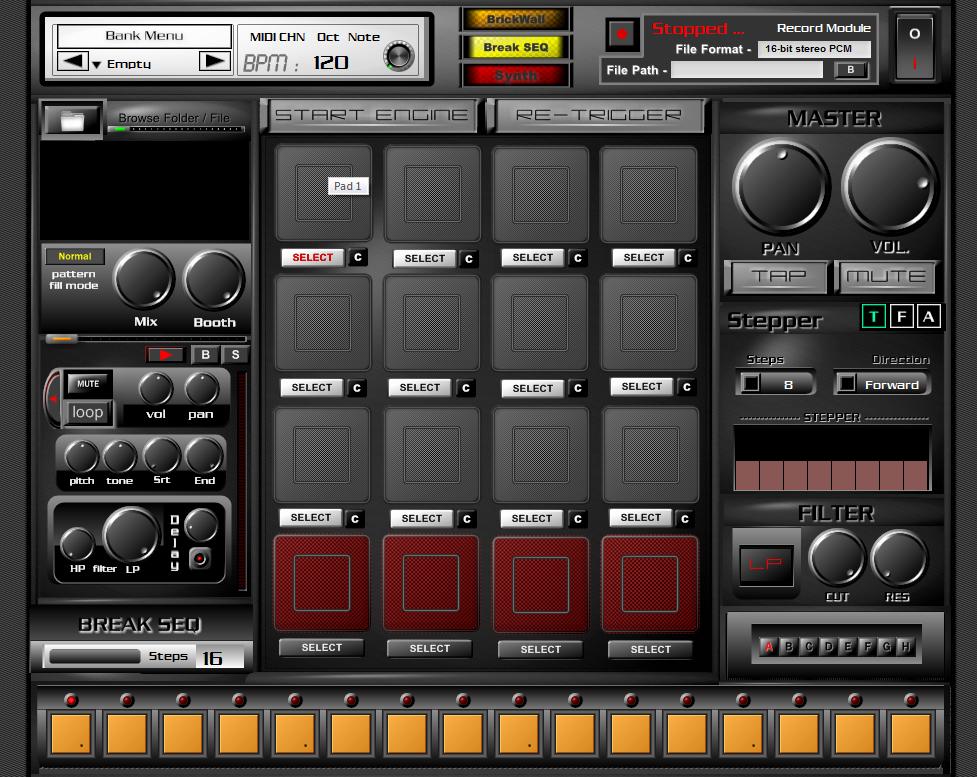 kvr releases nasty looper free drum machine for windows 32 bit. Black Bedroom Furniture Sets. Home Design Ideas