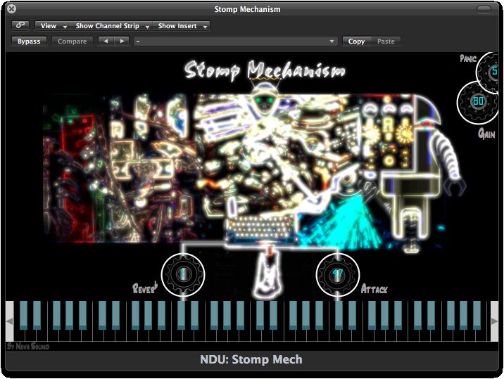 Nova Drum Unit: Stomp Mechanism