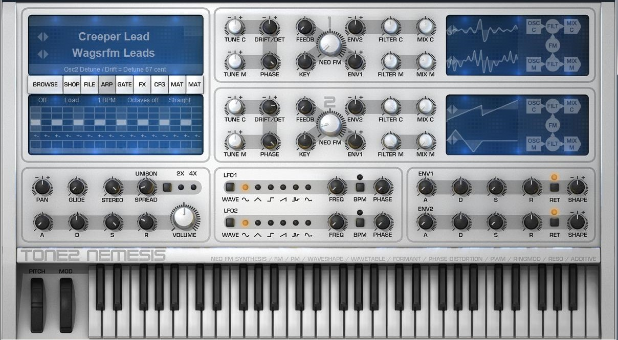 Tone 2 Nemesis Sound Library
