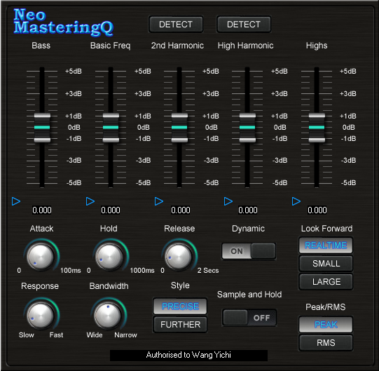 KVR: Sound Magic releases Neo MasteringQ - New Concept