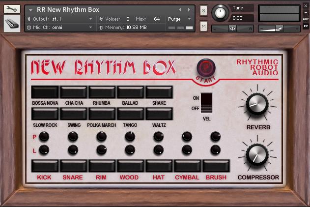 New Rhythm Box