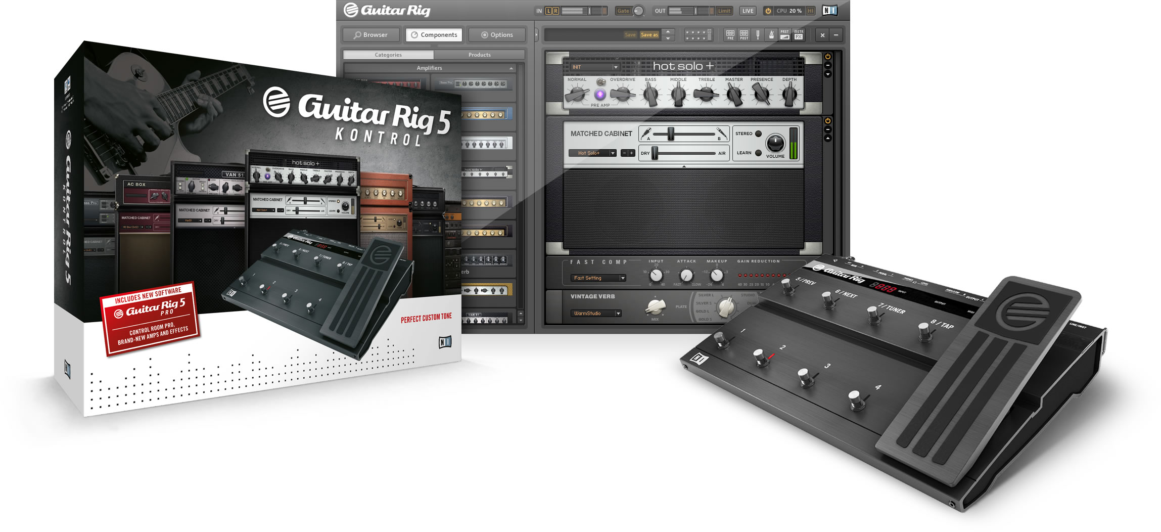 how to add guitar rig 5 presets