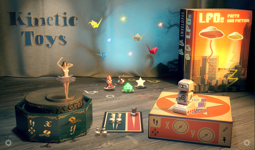 KVR: Native Instruments releases Kinetic Toys – Vintage