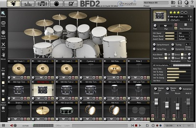 """KVR: Sonic Reality releases """"Nick Mason Drums"""" Sample Library for BFD"""