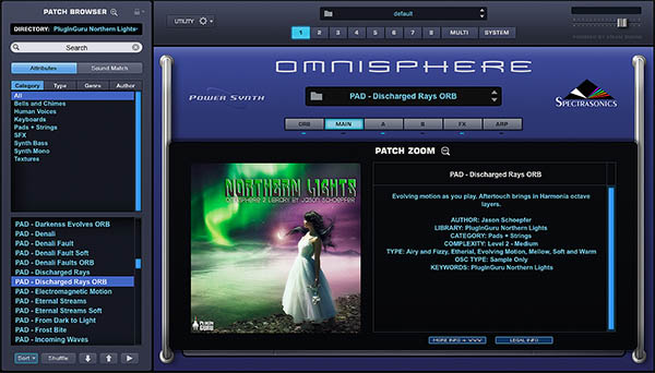 KVR: PlugInGuru releases Northern Lights for Omnisphere 2 1