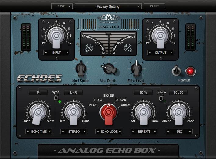 ECHOES -  Analog Echo Box