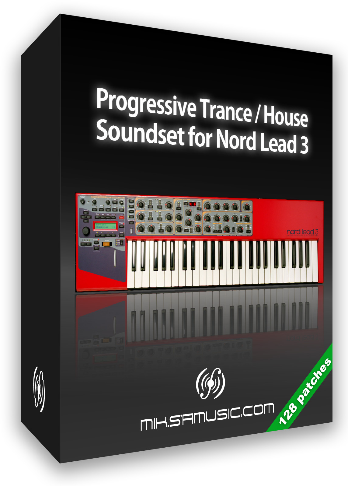 Progressive Trance / House Presets for Nord Lead 3 (128 patches)
