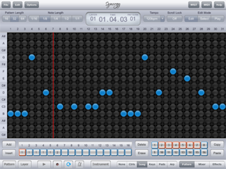 Synergy Studio - Music Sequencer for the iPad