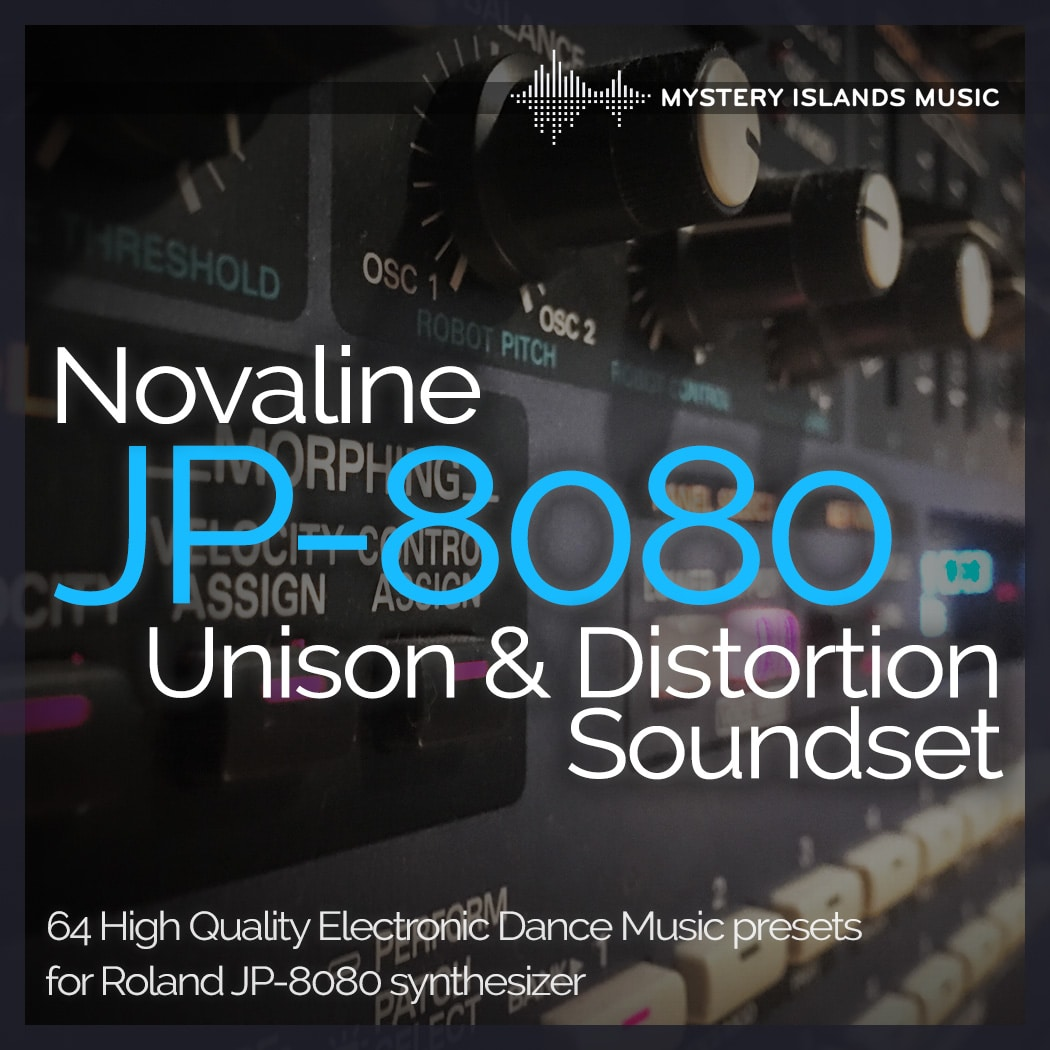 Roland JP-8080 Unison & Distortion Soundset
