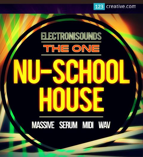 Nu-School House Pack (Massive presets, Serum presets, MIDIs, Loops, One-Shots)
