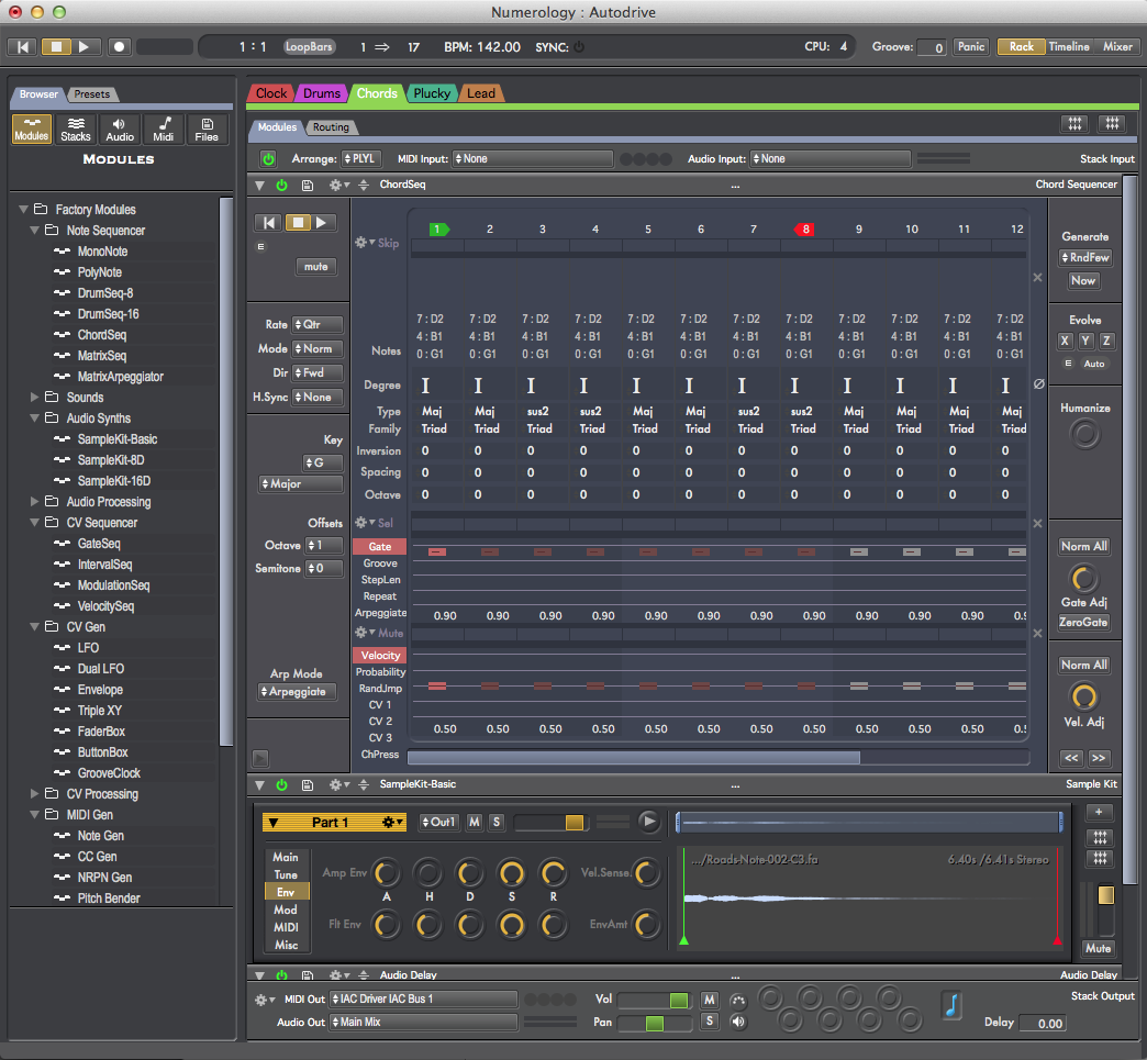 KVR: Numerology 4 Pro by Five12 - Sequencer VST Plugin