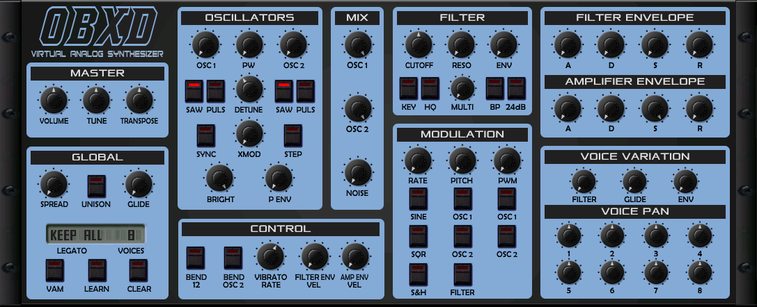 Obxd - Virtual Analog Synthesizer