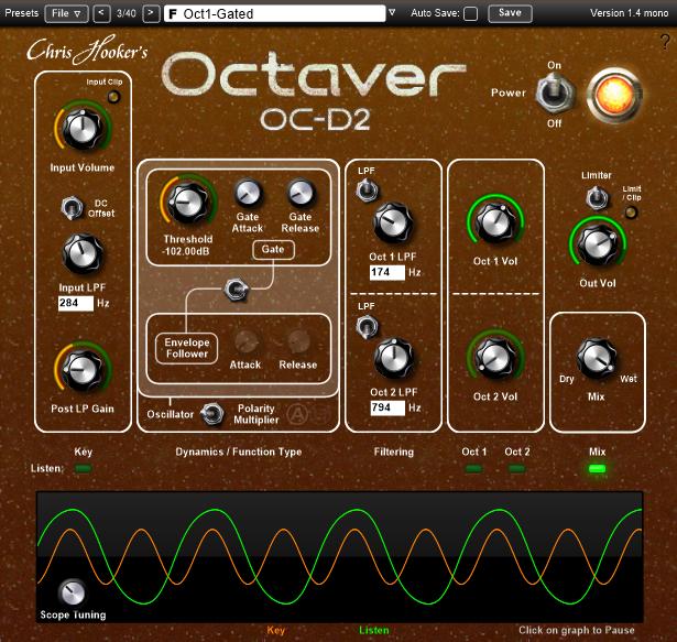 Octaver OC-D2