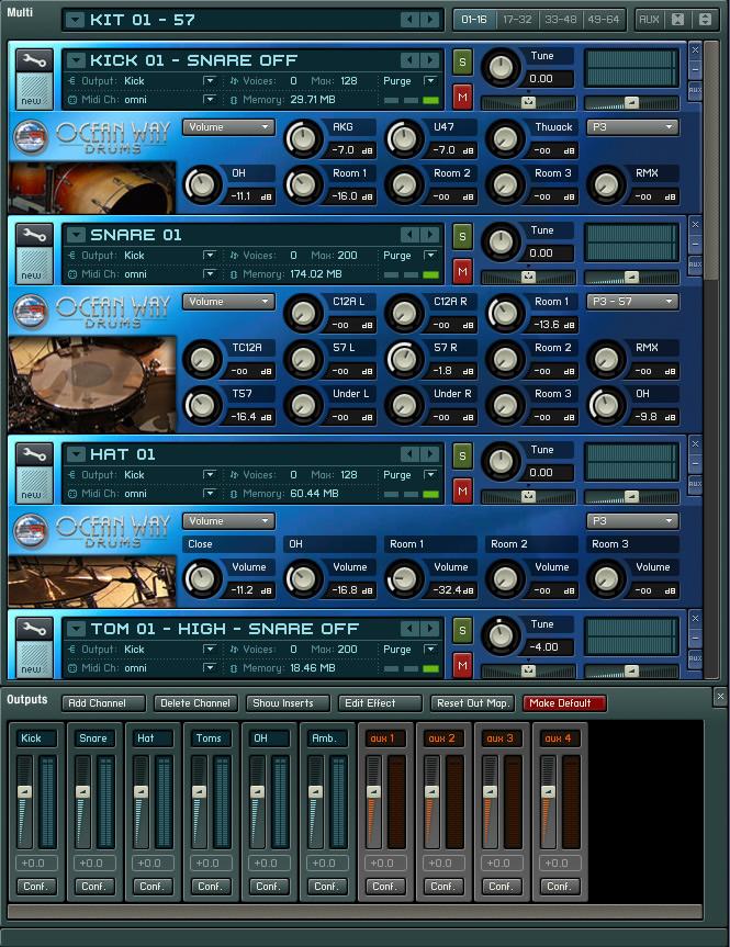 Ocean Way Drums