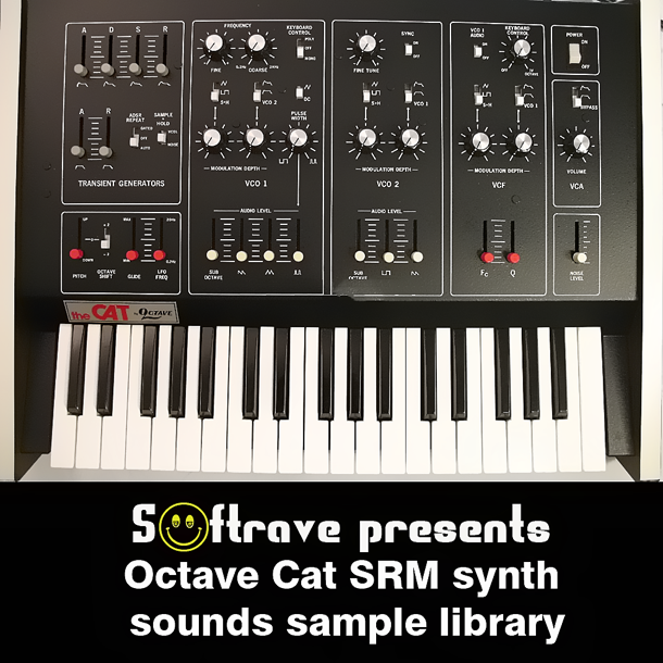 Kvr octave cat srm vintage analog synth sample library by for Classic house synths