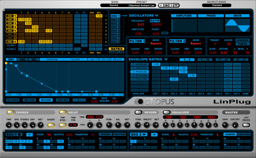 KVR: Octopus by LinPlug - Synth (Hybrid) VST Plugin and Audio Units
