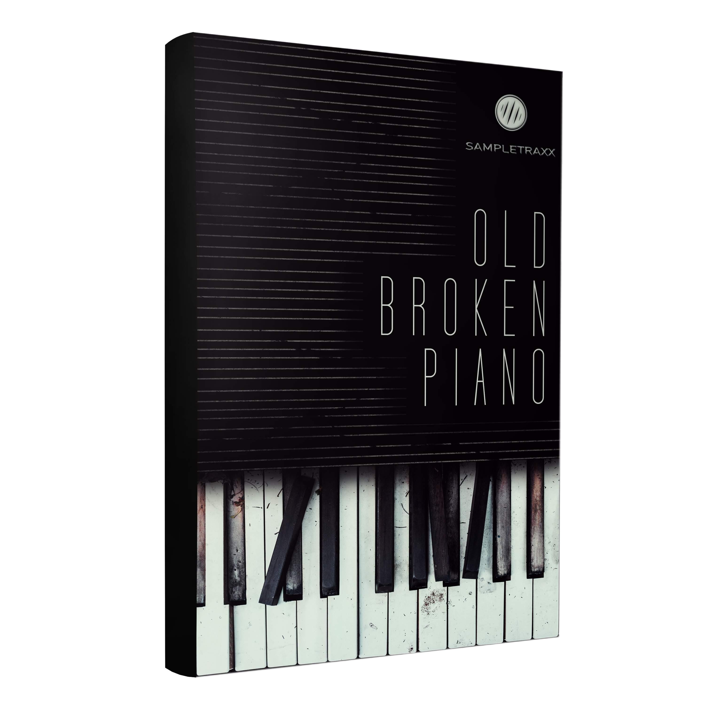 Old Broken Piano - Cinematic Horror Fx Wav+Kontakt