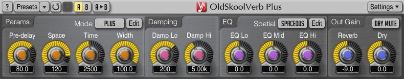 OldSkoolVerb Plus