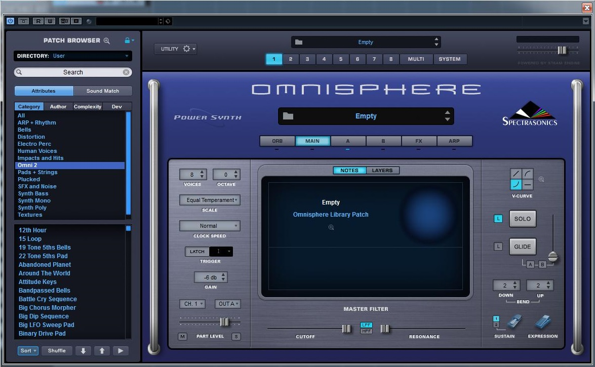 KVR: Omnisphere 2 Sound Library by Wagsrfm - Presets for
