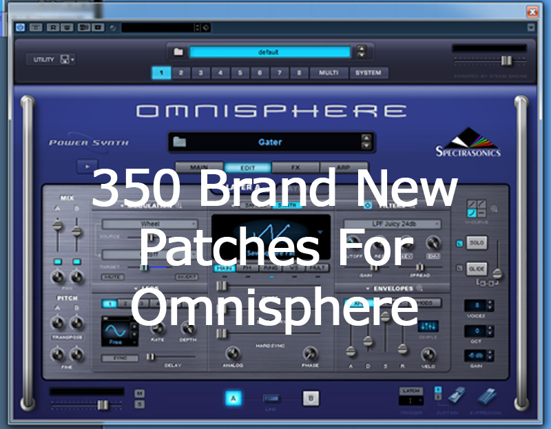 KVR: Omnisphere Patches by Wagsrfm - Presets for Omnisphere