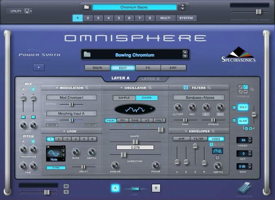 آموزش نصب VST امینوسفر Omnisphere