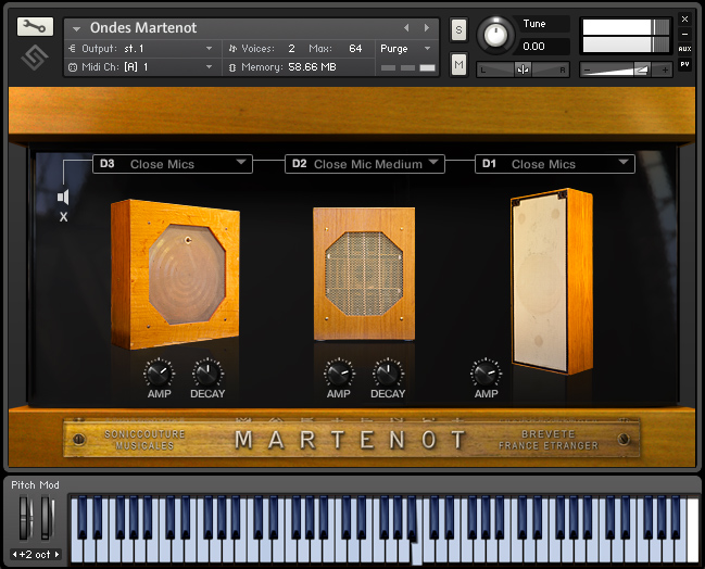KVR: Ondes by Soniccouture - Ondes Martenot VST Plugin, Audio Units