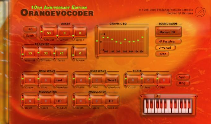 Orange Vocoder скачать - фото 2