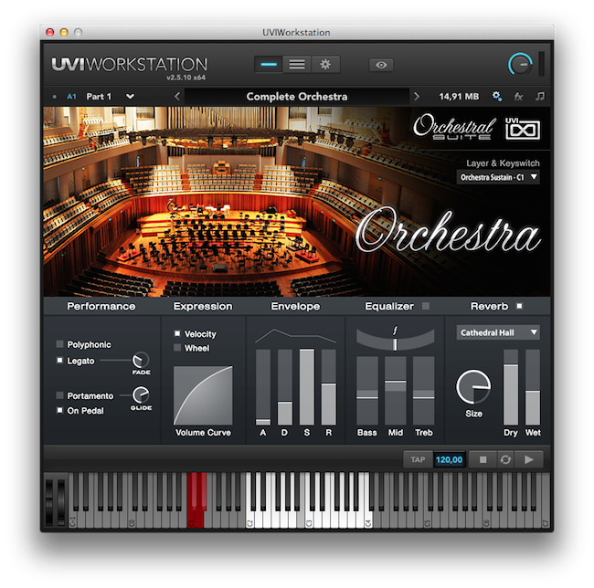 KVR: Orchestral Suite by UVI - Orchestral VST Plugin, Audio Units