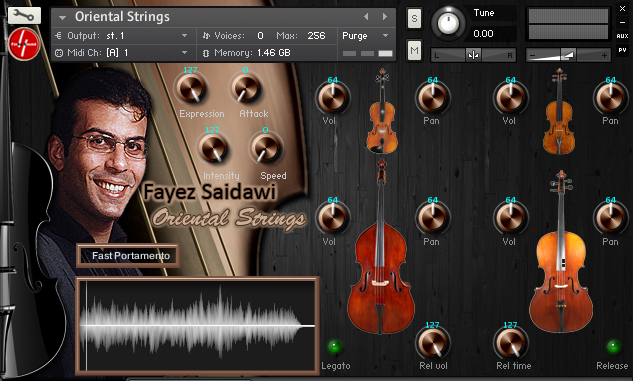 fayez saidawi oriental strings