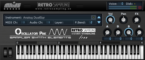 Oscillator Pak - Sampler Synth Elements