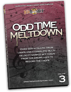 Odd Time Meltdown III | Fusion, Progressive Rock Drum Loops and Samples
