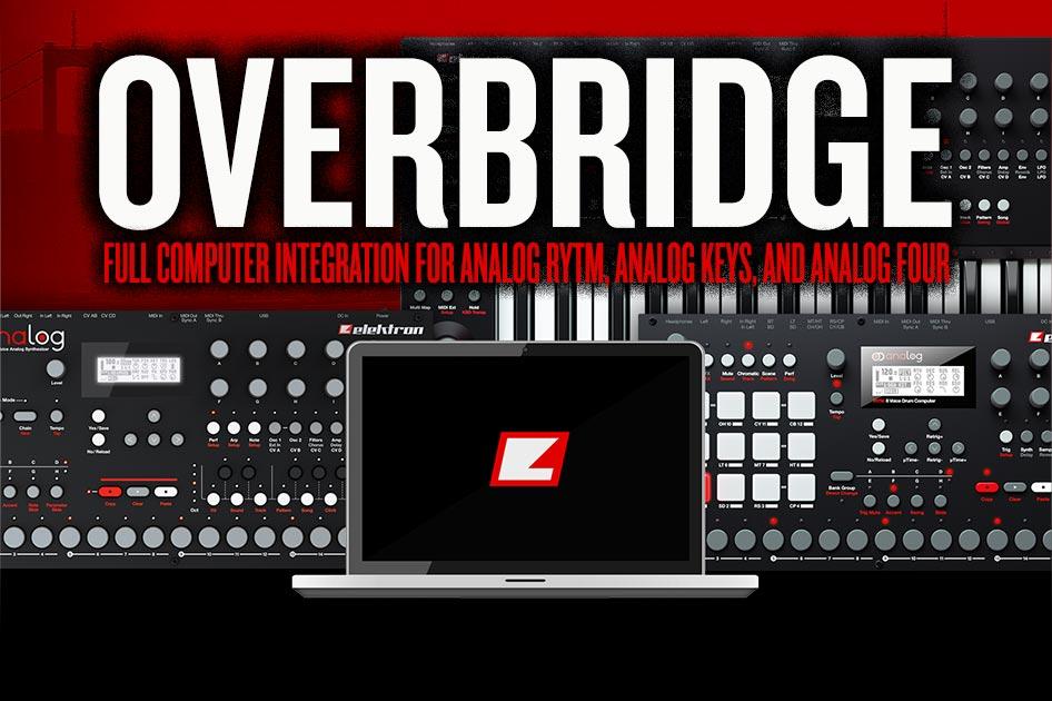 kvr elektron announces overbridge computer integration for analog mac win vst au. Black Bedroom Furniture Sets. Home Design Ideas