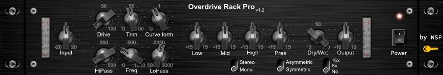 Overdrive Rack Pro