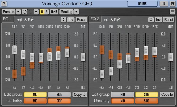 Overtone GEQ