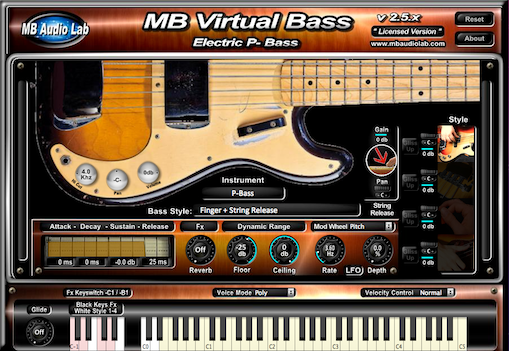 KVR: MB Virtual Bass Electric by MB Audio Lab - Bass VST Plugin