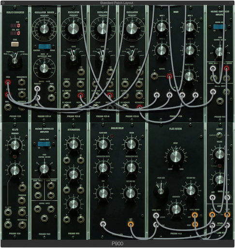 900 Series Modular Synthesizer