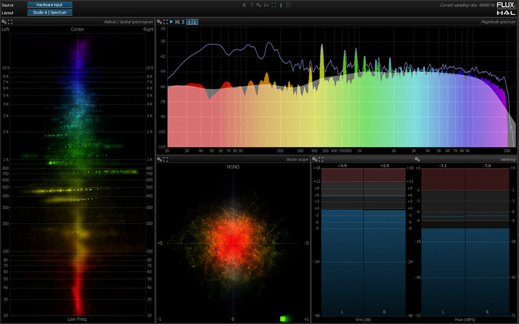 KVR: Pure Analyzer Essential by FLUX:: - Sample Editor VST