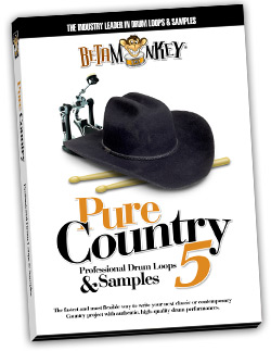 Pure Country V | Brush drum loops for country, folk, rockabilly, acoustic songwriters