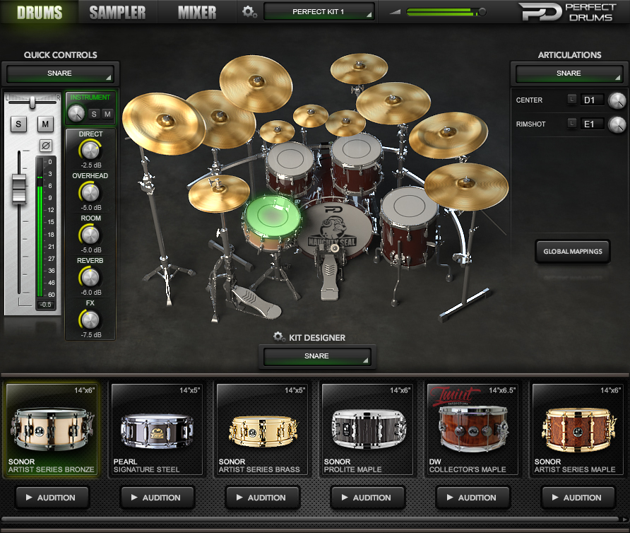 kvr naughty seal audio releases perfect drums for mac win vst au and aax with intro offer. Black Bedroom Furniture Sets. Home Design Ideas