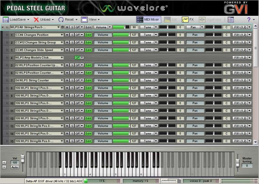 Kvr Wavelore Instruments Releases Pedal Steel Guitar