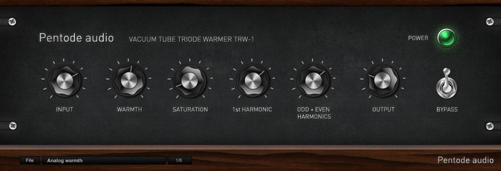 Pentode audio - Vacuum tube triode warmer TRW-1