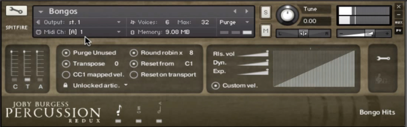 KVR: Spitfire Percussion by Spitfire Audio - Percussion VST Plugin