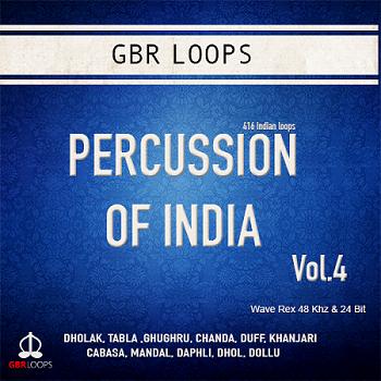 Percussion of India Vol.4