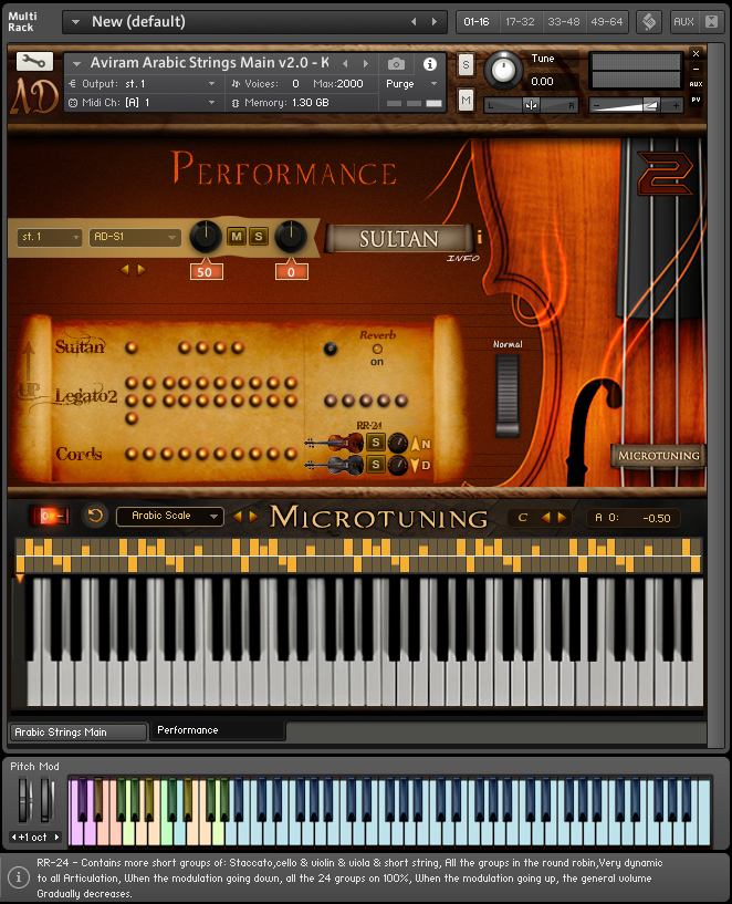 Arabic World Strings instrument VST
