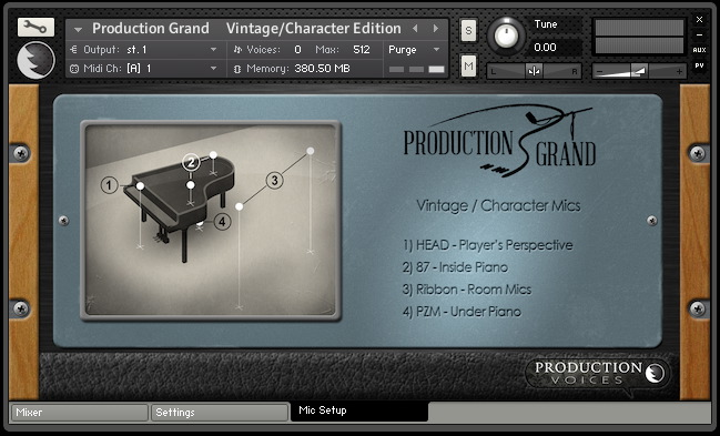 KVR: Production Grand by Production Voices - Piano