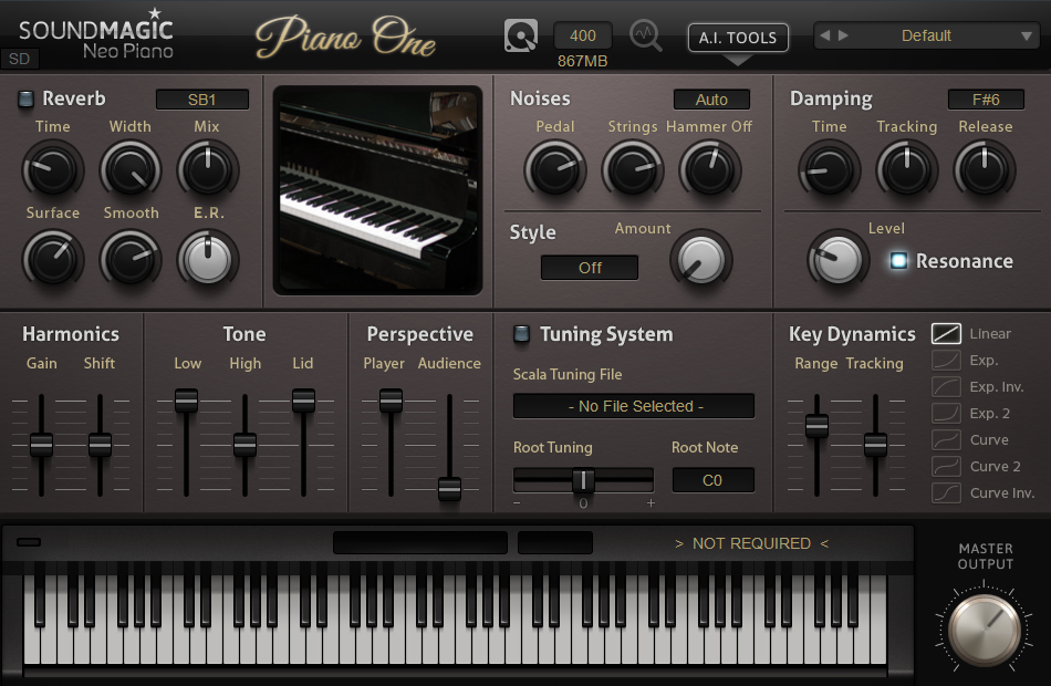 KVR: Piano One by Sound Magic - Piano / Keys VST Plugin and Audio