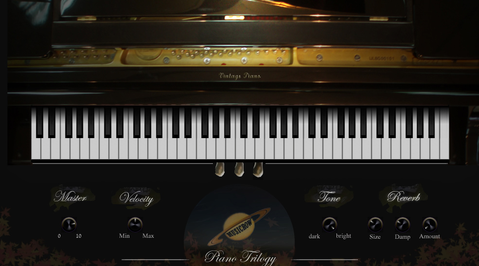 Kvr Piano Trilogy By Musicrow Piano Keys Vst Plugin