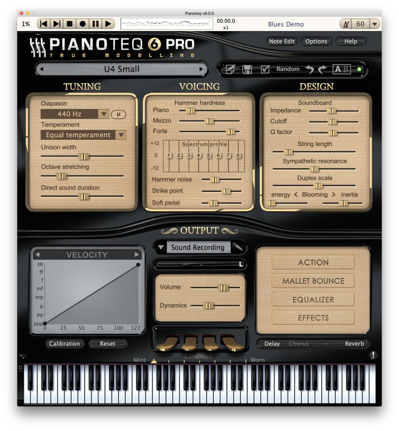 U4 Upright Piano