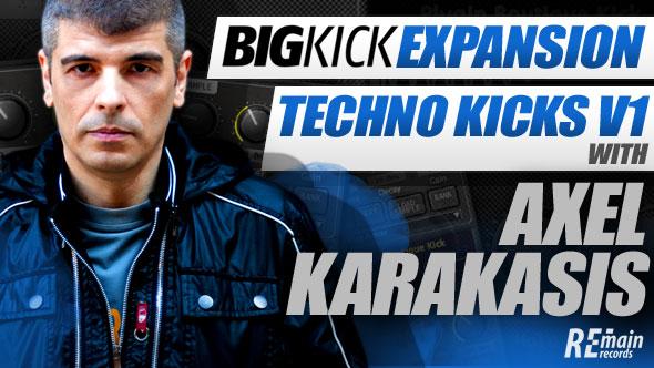 BigKick Expansion V5 - Techno Kicks with Axel Karakasis