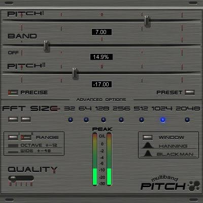 Pitch Shift Plug-ins (VST / DX)